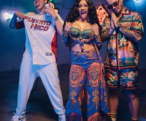 bad bunny, j balvin, and cardi b image
