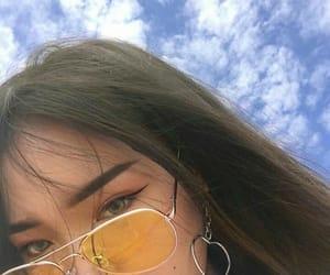 aesthetic, yellow, and girl image