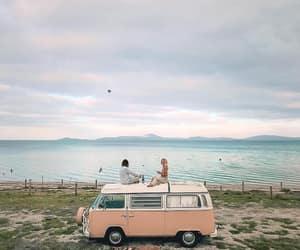 car, nature, and sea image