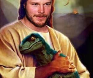 jesus and dinosaur image