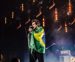 Harry Styles, brazil, and one direction image