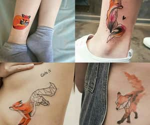 animals, tatto, and zorro image