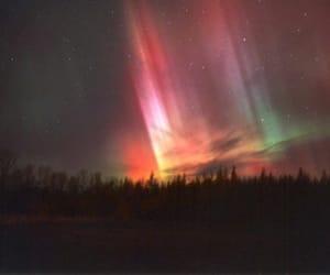 sky, northern lights, and aurora image