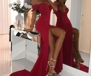 dress, girl, and heels image