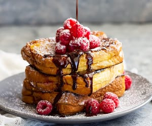 chocolate, food, and french toast image
