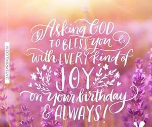 happy birthday, quote, and birthday wish image
