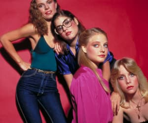 1980, Cherie Currie, and jodie foster image