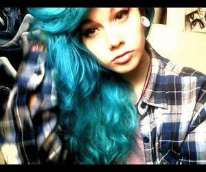 cabelo, dye, and girl image