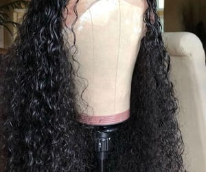 hair, curls, and weave image