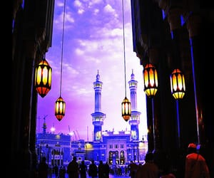 islam, light, and purple image