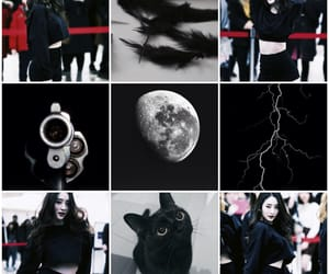 aesthetic, black, and bora image