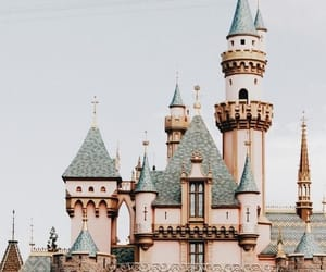 disney and castle image