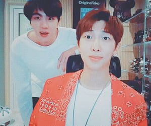 jin, namjoon, and namjin image