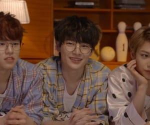 felix, seungmin, and jeongin image