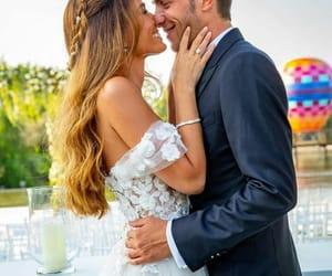 Barcelona, bride, and couple image