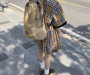 aesthetic, brown, and Burberry image