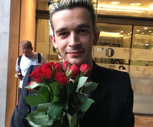 rose, the 1975, and matty healy image