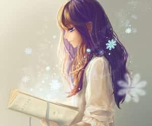 anime and book image