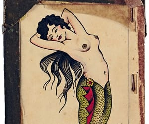 art, illustration, and mermaid image