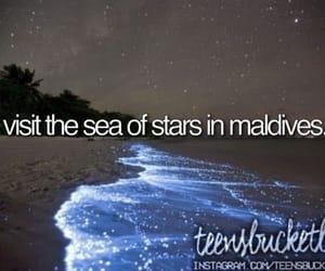Maldives, bucket list, and travel image