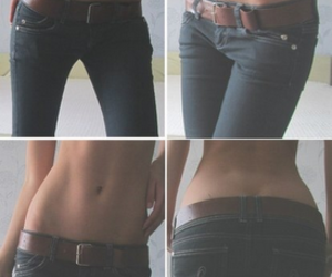 body, skinny, and jeans image