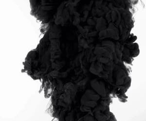black, smoke, and white image