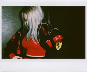 famous, red, and streetwear image