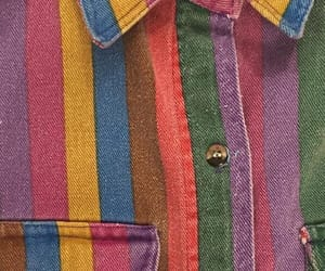 clothes, colors, and retro image