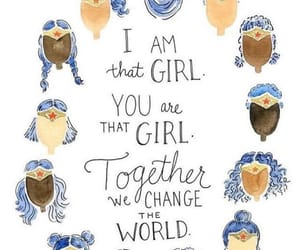 girl power, girls, and quotes image