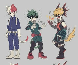 anime, neko, and anime boys image