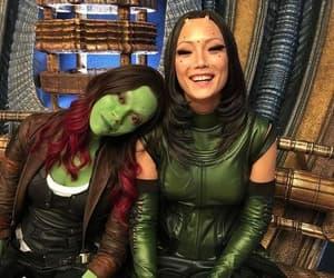 Marvel, mantis, and gamora image