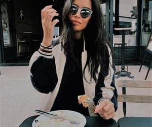 casual, eating, and fashion image