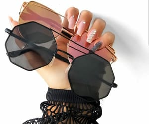 accessories, black, and chic image