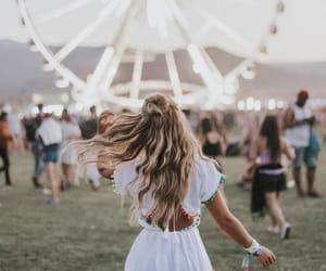 boho, carnival, and girl image