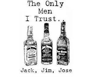 men, alcohol, and jack image