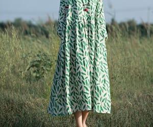 etsy, linendress, and cottondress image