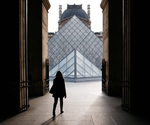 louvre, paris, and girl image