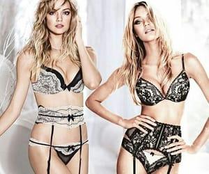 Lindsay Ellingson, lingerie, and models image