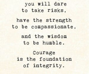 integrity, courage, and strength image
