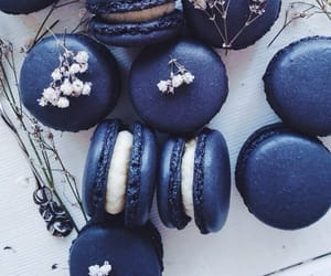 blue, food, and sweet image