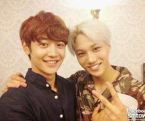 exo, kai, and Minho image