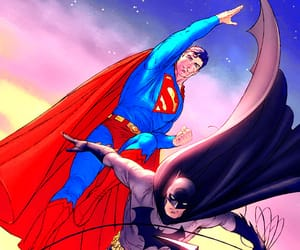 batman, clark kent, and bruce wayne image