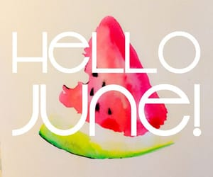 june, hello june, and hello image