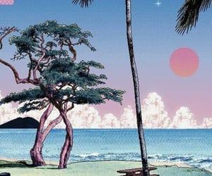 vaporwave, art, and pixel image