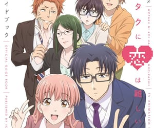 anime, romance, and wotakoi image