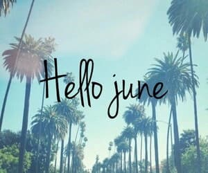 june and summer image