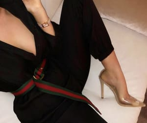 gucci, shoes, and fashionista image