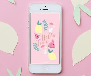 iphone, walpaper, and june image