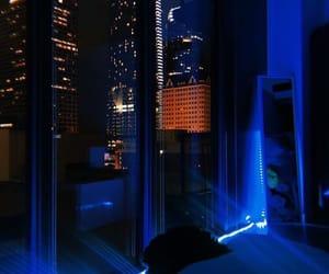 city, light, and nights image