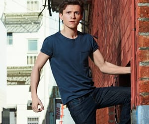 tom holland, spiderman, and peter parker image